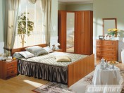 Italian Walnut Bedroom Georgia