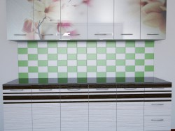 A simple kitchen wall
