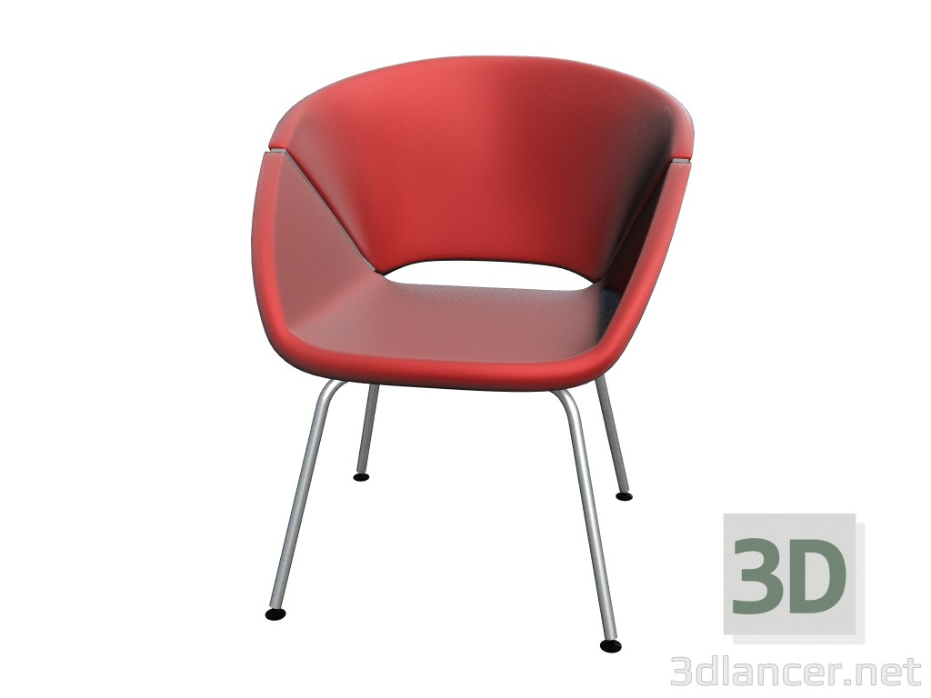 3d model Bi Chair Seat - preview