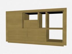 Книжный шкаф Аxor 4