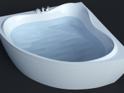 Bathtube Troy Extra (1500х1500мм) Corona і VRay