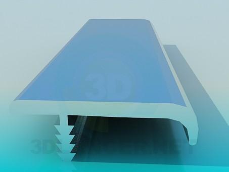 3d model Aluminum Profil - preview