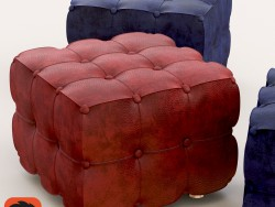 Pouffe leather