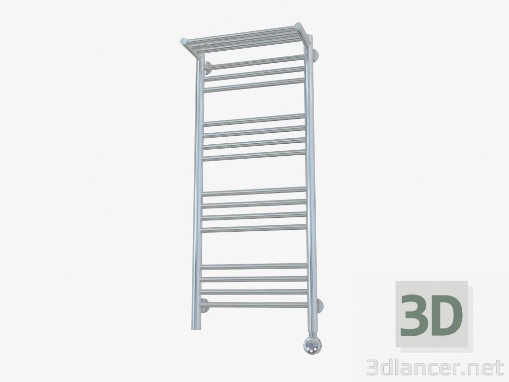 3d model Bohemia radiator with a shelf (1000x400) - preview