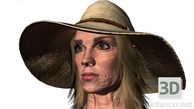 3d Grandma Ira model buy - render