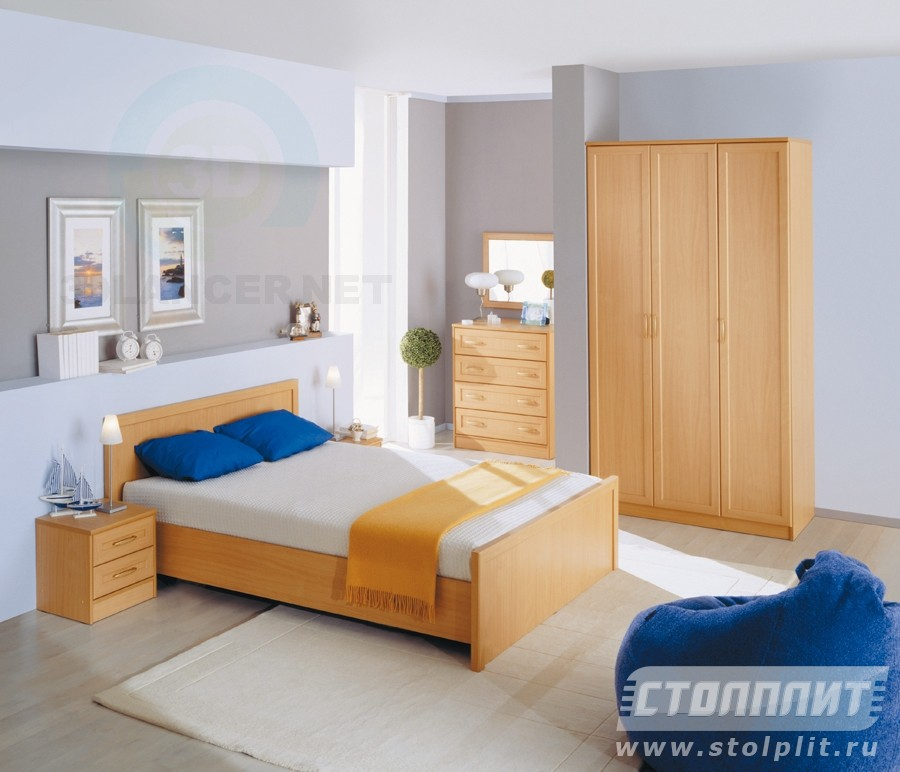 3d modeling Bedroom Simba model free download