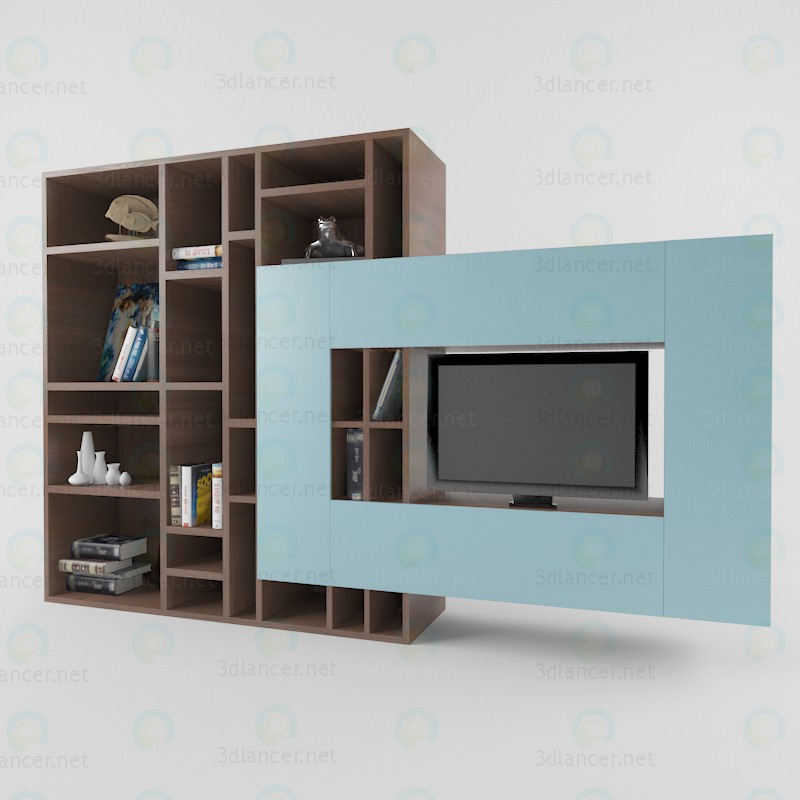 3d model Rack for TV - preview