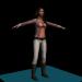 modèle 3D Fox megan - preview