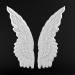 3d Wall decoration Wings model buy - render