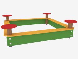 Sandbox per giochi per bambini (5305)