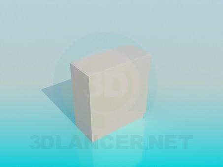 modelo 3D Estante de la esquina - escuchar