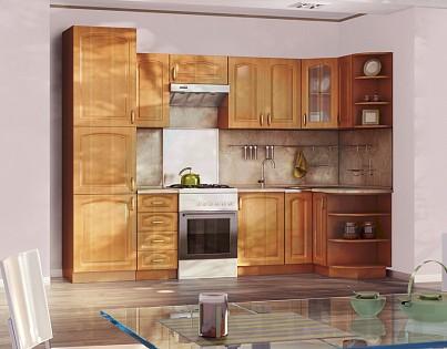 3d модель Кухонные системы Оля – превью