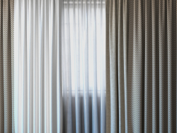 Curtains with tulle V-ray set 03