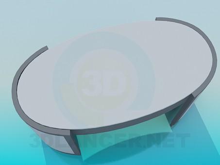 3d модель Стол в офис – превью