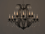 Chandelier forged
