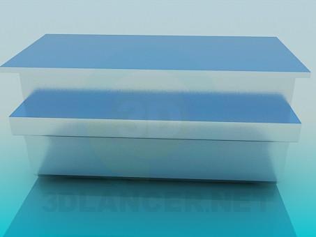 3d model Profile Furniture Aluminum - preview