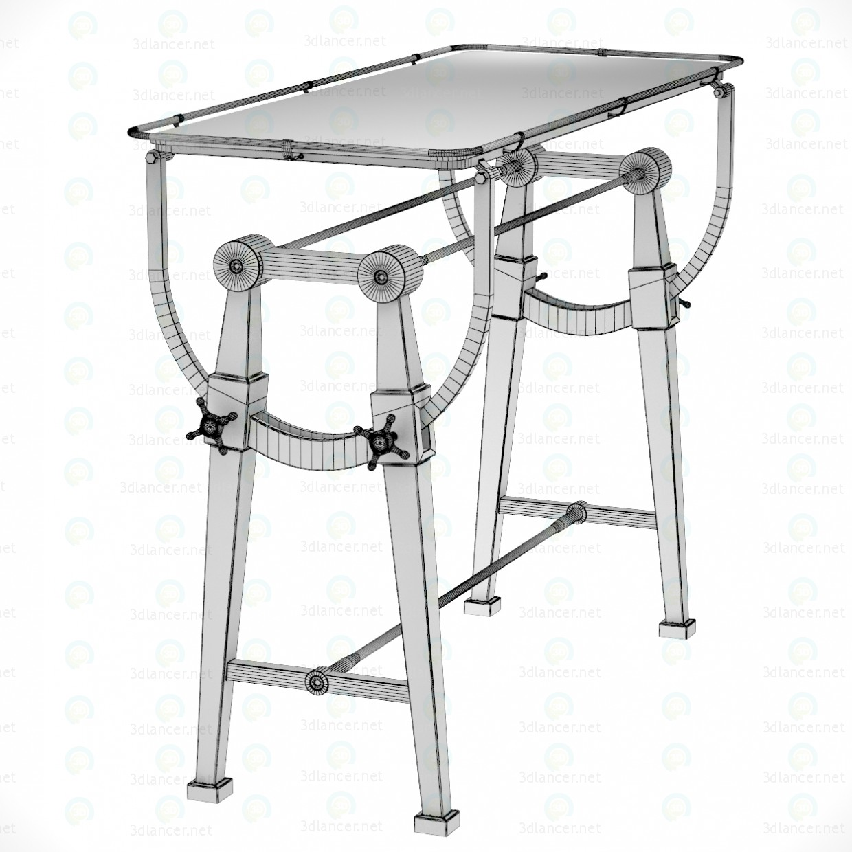3d GO HOME CHARTING TABLE model buy - render