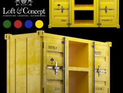 TV tablolar LOFT TV konteyner (4 renk)