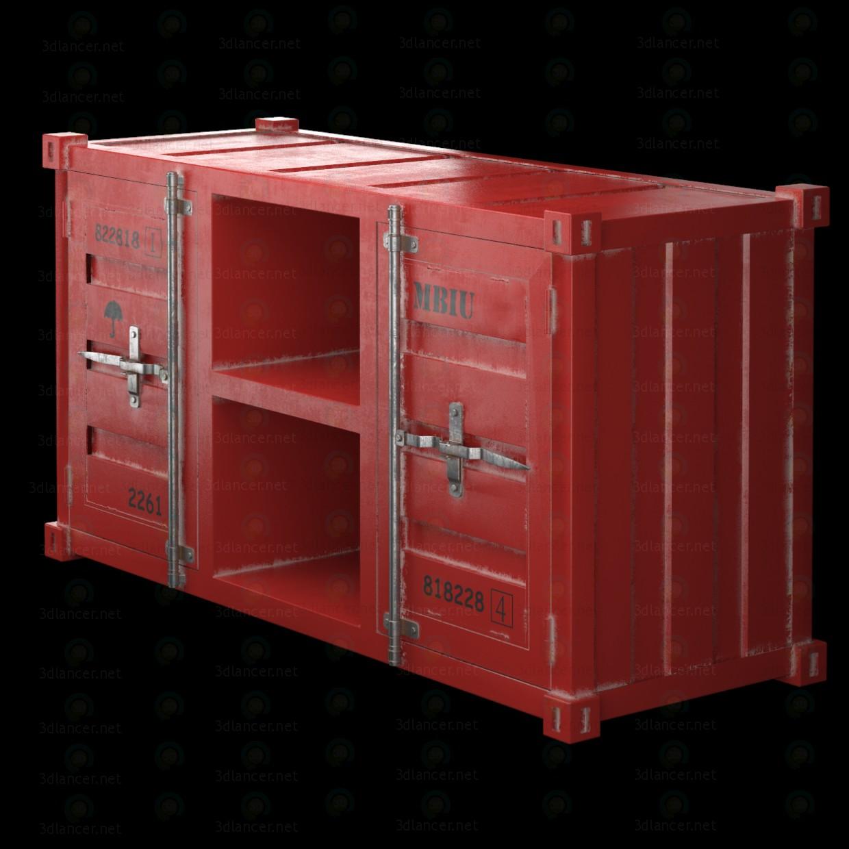 Mesas de TV LOFT TV envase (4 colores) 3D modelo Compro - render