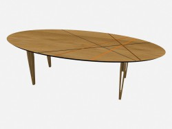 Oval table, Janet