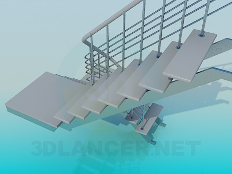 3d model Ladder - preview