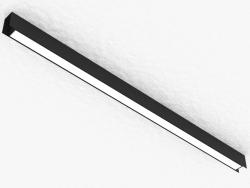 चुंबकीय busbar के लिए एलईडी दीपक (DL18785_Black 30W)