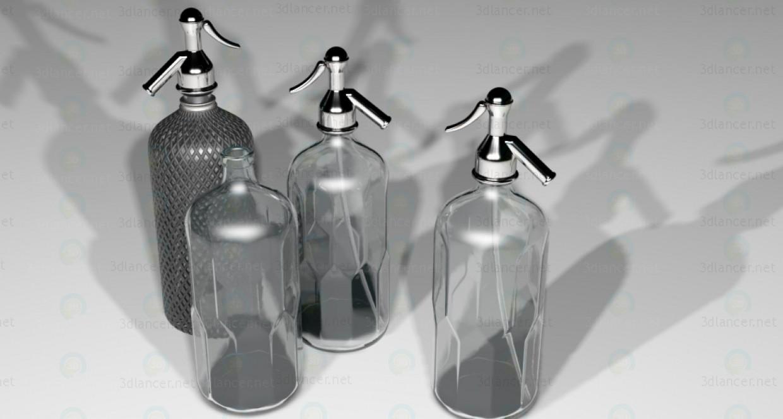 3d модель Сифон для воды – превью