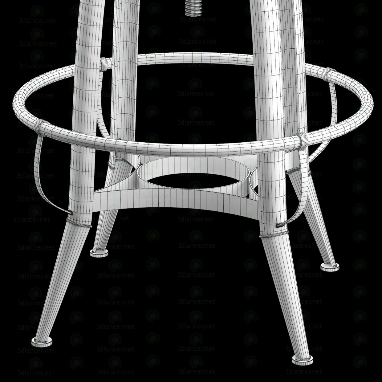 SILLA LOFT INDUSTRIAL PERNO ROTATIVO 3D modelo Compro - render