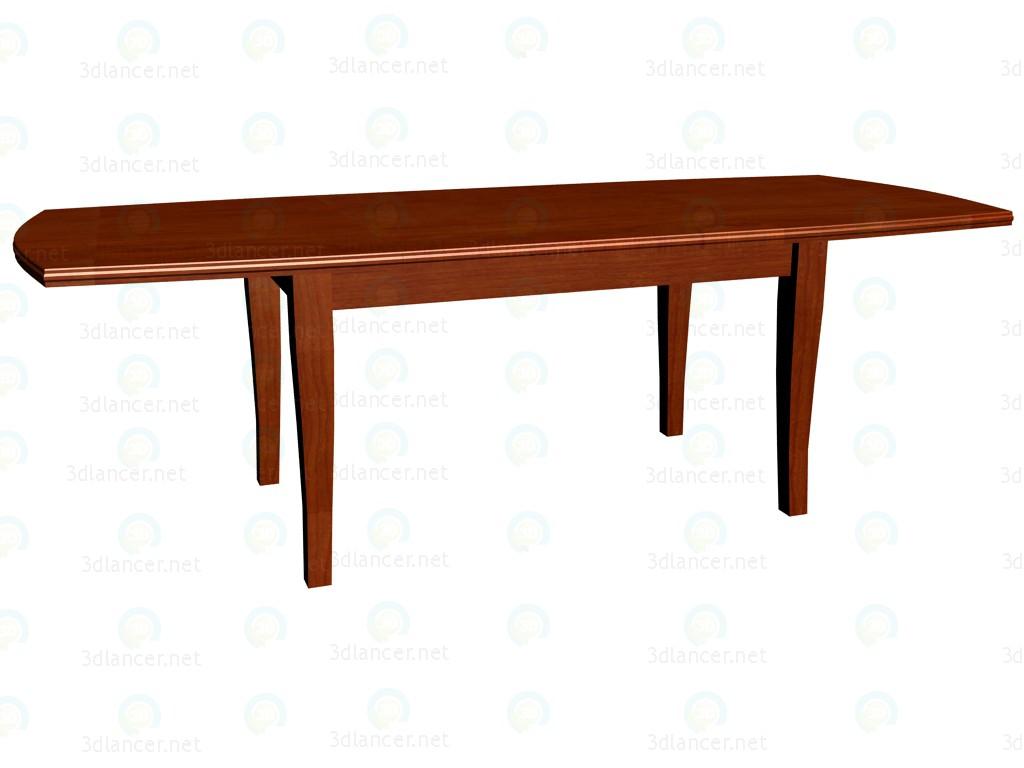 3d модель Стол раскладной (максимум разложенный) – превью
