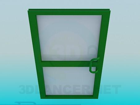 3d modeling Metal Door model free download