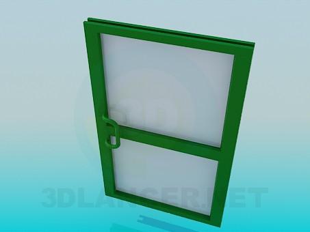 3d model Metal Door - preview