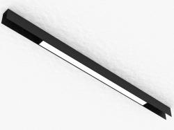 चुंबकीय busbar के लिए एलईडी दीपक (DL18785_Black 20W)