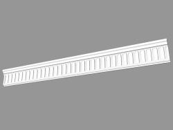 Molded cornice (КФ27)