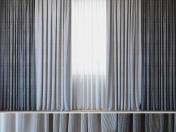 Curtains with tulle set 06