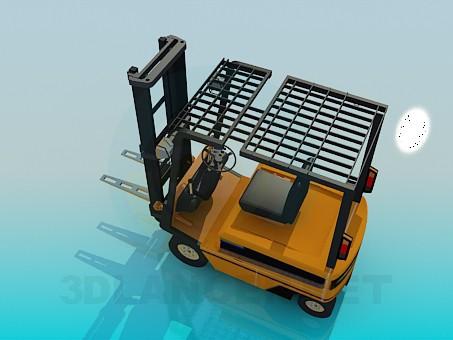 3d модель Вантажний підйомник – превью