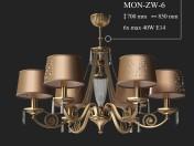 Lámpara KUTEK MONZA MON-ZW-6