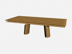 Table rectangulaire olympique