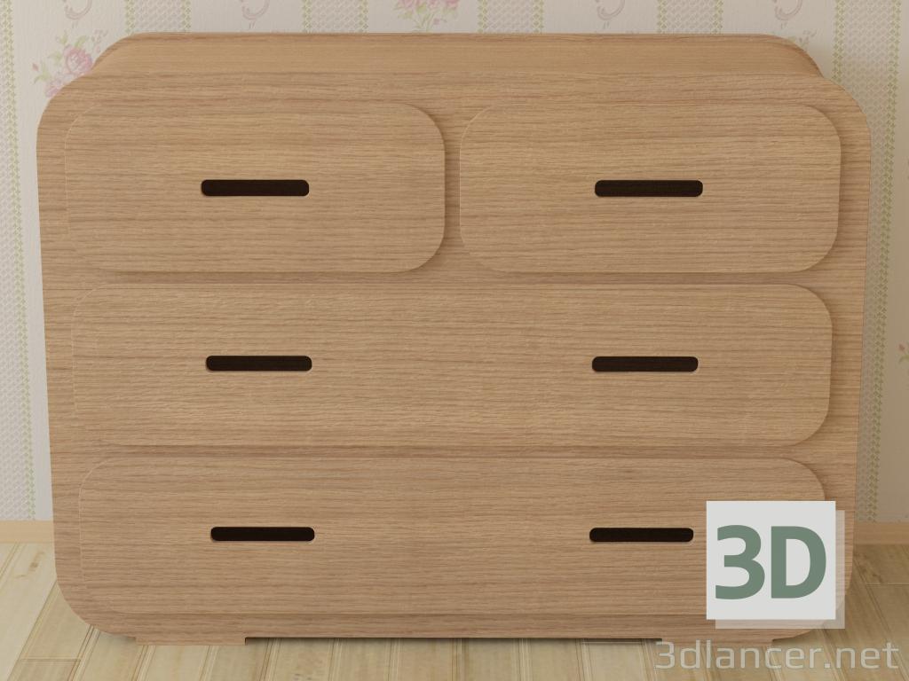 Cassa del cassetto 3A da Unto questo ultimo pagato modello 3d con l'anteprima di Oleksii84 PREVIEWNUM