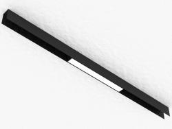 La lámpara LED para la barra colectora magnética (DL18785_Black 10W)