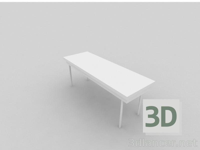 3D Modell Haupt-Esstisch - Vorschau