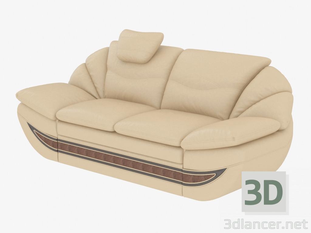 3d modell ledersofa vom hersteller mobel zeit olympic id 19094. Black Bedroom Furniture Sets. Home Design Ideas