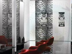 Текстура плитки Тигр