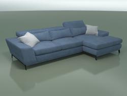 Sofá de esquina (módulo 6 + 10)