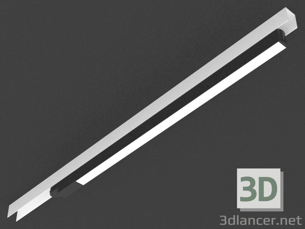 3 डी मॉडल एलईडी दीपक ट्रैक (DL18931_30W Vlack 4000K) - पूर्वावलोकन