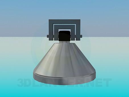 3d модель Галогеновий світильник – превью