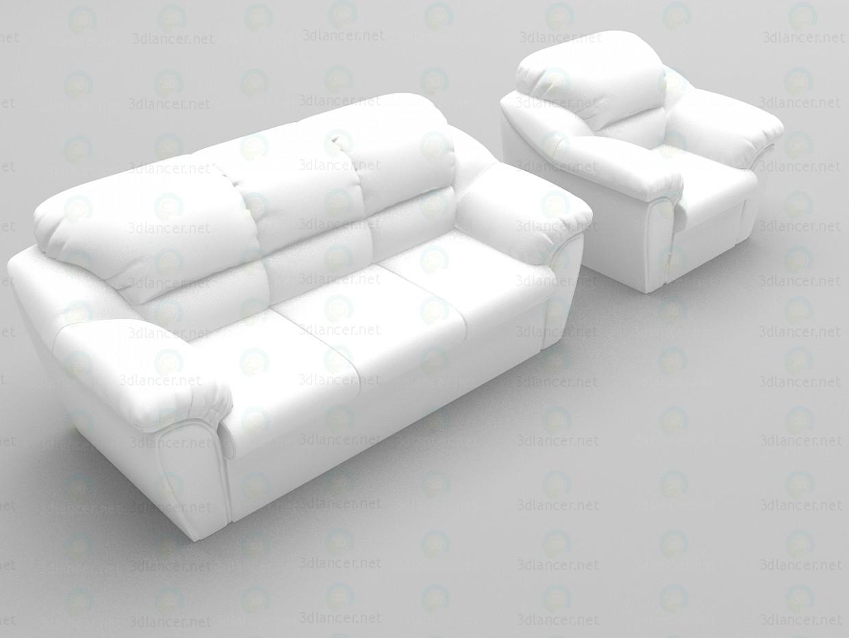 3d model Venera - preview