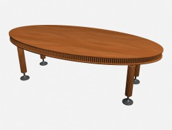 Table ovale Ruthy