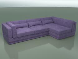 Sofá de esquina (módulo 5 + 10)