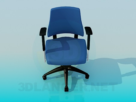 3d model Chair with height adjustable seat - preview