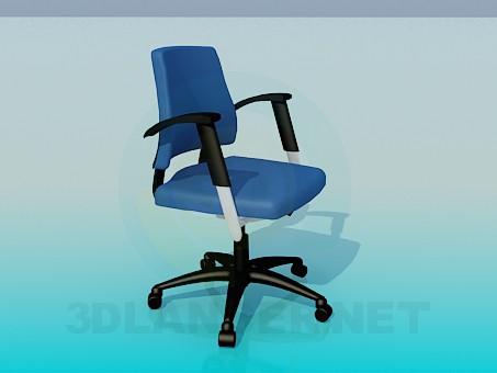 3d модель Стул с регулировкой высоты сидения – превью